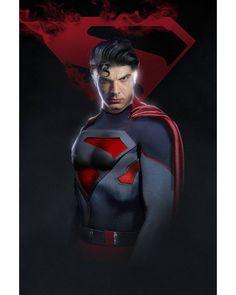 Blue suit rework :) @brandonjrouth #kingdomcome #crisisoninfiniteearths Batman Vs Superman, Superman Suit, Spiderman Art, Batman Returns, Marvel Films, Marvel Dc, Bad Comics, Brandon Routh, Superhero Characters