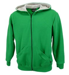 Emerald green zip hoodie, made inEngland.    Pouch pockets, ribbed sleeve cuffs and hood lined in contrast grey marl fabric.   http://www.josery.com/collections/mens-hoodie/products/j801-mens-emerald-green-zip-hoodie