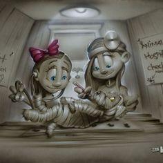 Urgent_Care Urgent Care, Imagination, Children, Kids, Cool Art, Legends, Fine Art, Cool Stuff, Canvas