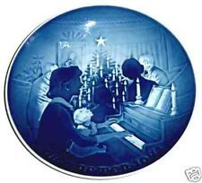 1971 Bing and Grondahl Christmas Plate rejoiced at the birth of Alicia Alieen.