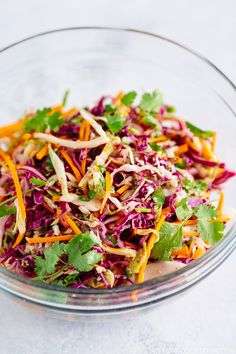 Asian Coleslaw アジア風コールスロー | Easy Japanese Recipes at JustOneCookbook.com