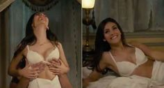 Victoria Justice playing Janet in Rocky Horror