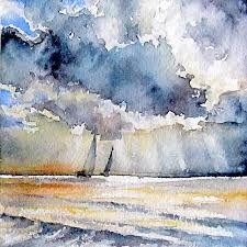 Картинки по запросу watercolor miniature landscape