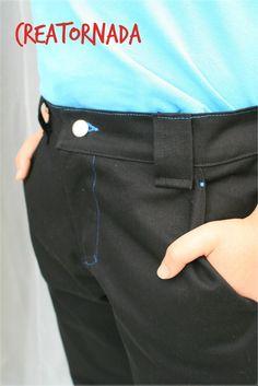 Mes défis Cousu Main :le Pantalon Patron ottobre modifié