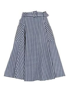 Collectif Mia Gingham Skirt £55