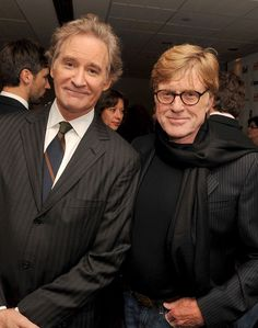Robert Redford & Kevin Kline