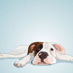 Learn how a talented designer creates custom pet portraits. I would love a portrait of my dog!