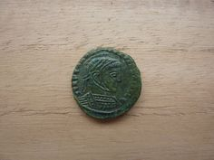 Constantine I Siscia.Barbaric imitation of constantine I bronze. Celtic, Coins, Bronze, Rooms