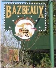 If you're looking for places to eat with the entire family Bazbeaux is a great choice. And that pizza is tasty