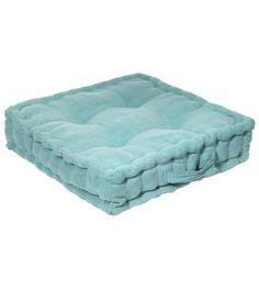 Matraskussen ijsblauw
