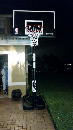 Spalding portable basketball goal assembled at Plantation, Florida Spalding Basketball Hoop, Wwe Toys, Basketball Goals, Knee Injury, Architecture, Outdoor Decor, Arquitetura, Architecture Design