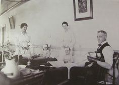 NSH Nurses caring for children injured in the Halifax explosion.