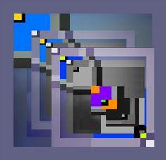 """ Geometric  Fields "" by luigi  rabellino"