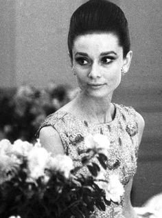 Audrey Hepburn photographed by Angela Williams at The Ritz in Paris, 1964.