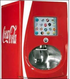 are you kidding?? a TOUCH SCREEN? FOR A SODA MACHINE????