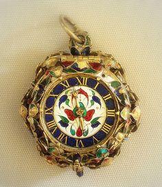 Jewelry & Watches Brave Antique 1850s Breitling Laederich 18k Gold Hunter Case Pocket Watch 13 Jewel Retro, Vintage 1930s-1980s