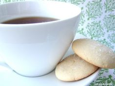Butter Cookies, sounds like they'd be great with coffee...though I don't drink it, lol.