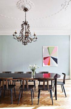 best-herringbone-floors-light-blue-dining-room