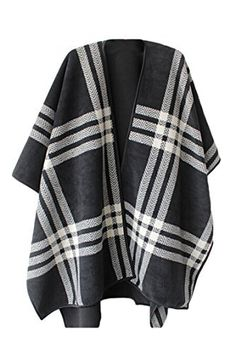 """VamJump Women Winter Reversible Oversized Blanket Poncho Cape Shawl Cardigans       Famous Words of Inspiration...""""I would not join any club that would have someone like me for a member.""""   Groucho Marx — Click here for more from Groucho...  More details at https://jackets-lovers.bestselleroutlets.com/ladies-coats-jackets-vests/wool-pea-coats/product-review-for-vamjump-women-winter-reversible-oversized-fleece-blanket-po"""