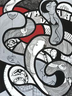 Contemporary artist MAMBO