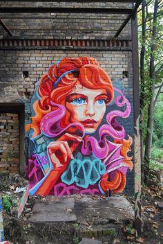"""by Yu-baba (Belarus) - """"Enchantress"""" - Halle, Germany"""