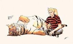 Calvin & Hobbes All Grown Up: If Calvin aged normally, he'd be 33 years old.