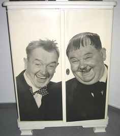 Laurel and Hardy dresser!