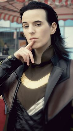 Love her!!! She has the BEST Loki cosplay EVER!
