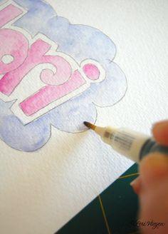 elvie studio: inspiration monday - how to make you own name tags