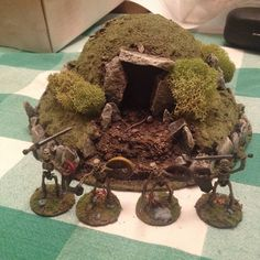 Barrow. Possible terrain feature for Dux Britanniarum games, as the barrows would still be prominent in those times.