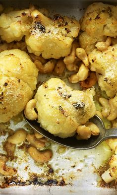 You'll go absolutely nuts for this parmesan and cashew nut roast cauli side that's easy and light.