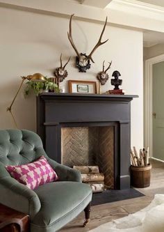 top fake fireplaces that look real household ideas design chic faux fireplace ru. : top fake fireplaces that look real household ideas design chic faux fireplace rustic fireplaces black fireplace surround decorating ideas for small living room Black Fireplace Surround, Paint Fireplace, Fake Fireplace, Fireplace Hearth, Fireplace Surrounds, Fireplace Design, Fireplace Ideas, Painted Fire Surround, Black Fireplace Mantels
