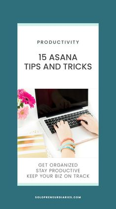 Do you use Asana for your project and task management? Asana is a powerful organization tool for your online business. These tips and ideas will help you get the most out of Asana.   Productivity   Project Management #productivityhacks #timemanagementtips Asana Project Management, Time Management Tips, Business Management, Marketing Automation, Marketing Tools, Online Marketing, Guerrilla Marketing, Street Marketing, Names