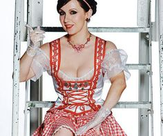 A Dirndl is something you already know but may not know the name of. It's these things that girls wear at Oktoberfest every year because they're a traditional German garb worn by wonderful beer maids throughout the ages. Spanning every year (including 2012), these are the hottest pictures of ...