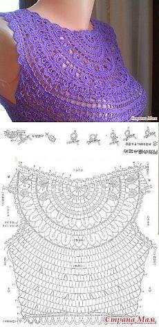 Fabulous Crochet a Little Black Crochet Dress Ideas. Georgeous Crochet a Little Black Crochet Dress Ideas. Col Crochet, Crochet Shirt, Crochet Diagram, Crochet Woman, Crochet Squares, Crochet Motif, Free Crochet, Tutorial Crochet, Popular Crochet