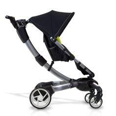 origami stroller. If I was rich: it has power folding (opens and closes at touch of a button), gears in rear wheels charge it, so you can also charge your cell with it, lcd screen with odomotor/temp gauge...
