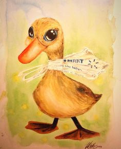 Just Ducky by Jenny Mathews of Rockford Illustrating