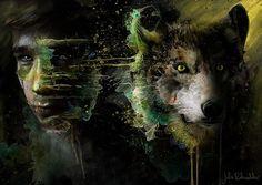 Волк — это душа человека, которая выбрала свободу...