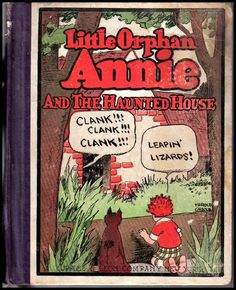 Little Orphan Annie And The Haunted House -- 1928 on Ruby Lane #RubyLane
