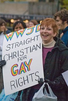 straight christian for gay rights......why aren't there more of them?