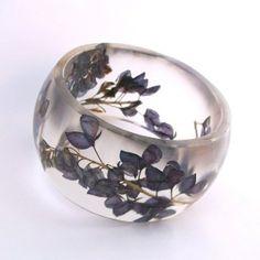 Botanical Resin Bangle | jewelry