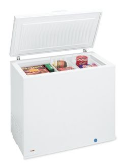 Frigidaire FFC0723DW 7-1/5-Cubic-Foot Manual-Defrost Chest Freezer, White -- This is an Amazon Affiliate link. Click on the image for additional details.
