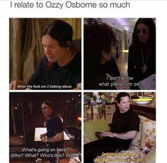 Everyone can relate to Ozzy.   funny pictures