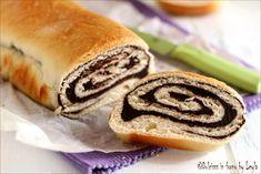 Pane dolce al cioccolato – Chocolate Swirl Bread