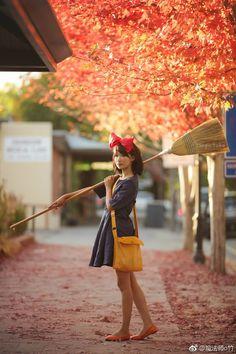Cute Couple Halloween Costumes, Anime Halloween, Halloween Cosplay, Halloween Outfits, Kiki Cosplay, Cute Cosplay, Best Cosplay, Cosplay Ideas, Anime Costumes