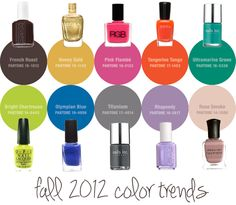 Pantone's 10 Trendiest Colors for Fall http://birch.ly/SRN4GH