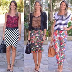 Look de trabalho - Look do dia - moda corporativa - roupa de trabalho - work outfit - office outfit - look executiva - look verão - mix de estampas - mix and match - listras - floral - flowers - stripes - - animal print