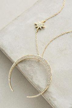 Lunar Arc Necklace - anthropologie.com