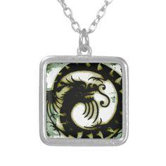 Dragon Custom Jewelry #Dragon #Necklace #Pendant