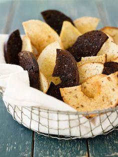 Baked Bagel Chips